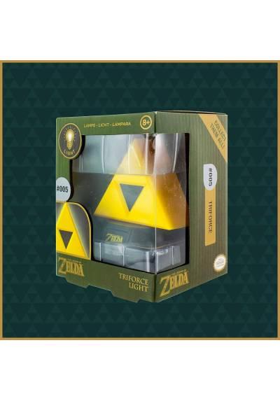 Lampara 3D LED Triforce - La Leyenda de Zelda (9 x 8 x 8)