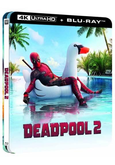 Deadpool 2 - Steelbook lenticular (4K UHD + Blu-Ray)