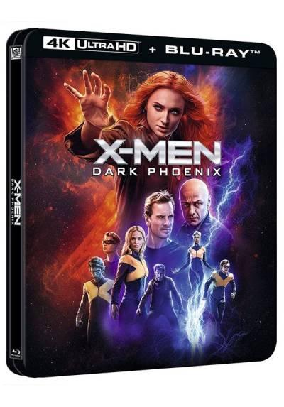 X-Men: Fenix Oscura - Steelbook lenticular (4K UHD + Blu-Ray) (X-Men: Dark Phoenix)