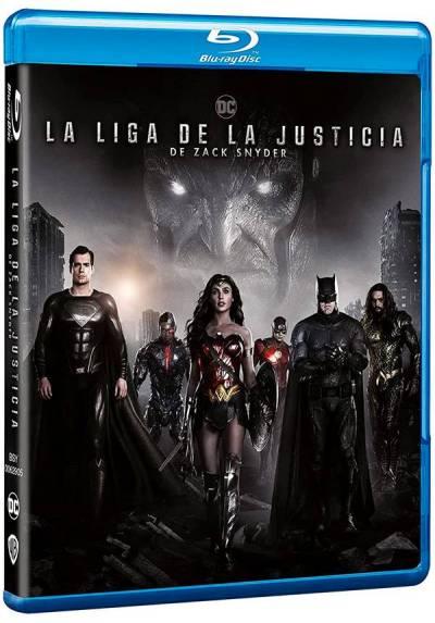 La Liga de la Justicia de Zack Snyder (Blu-ray) (Zack Snyder's Justice League)