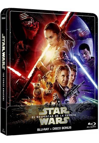 Star Wars: El despertar de la fuerza (Ed. remasterizada) - Steelbook (Blu-ray + Extras)