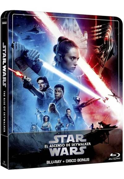 Star Wars: El ascenso de Skywalker (Edicion remasterizada) - Steelbook (Blu-ray + Extras)