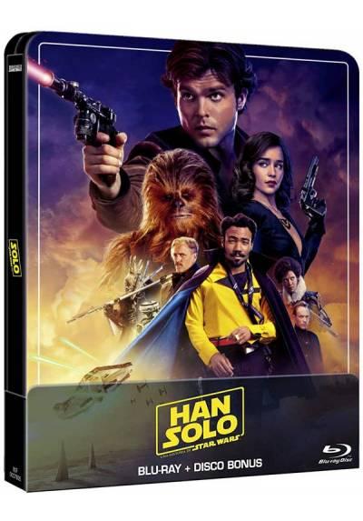 Han Solo: Una historia de Star Wars (Edicion remasterizada) - Steelbook (Blu-ray + Extras)