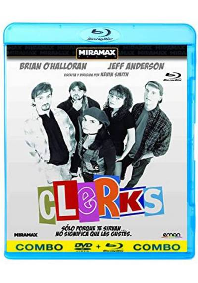copy of Clerks (Blu-Ray + Dvd)
