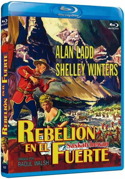 Rebelion en el fuerte (Blu-ray) (Saskatchewan)