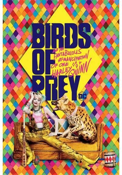 Poster Harley's Hyena -  Aves de presa (POSTER 61 x 91,5)