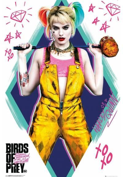 Poster Harley Quinn - Aves de presa (POSTER 61 x 91,5)