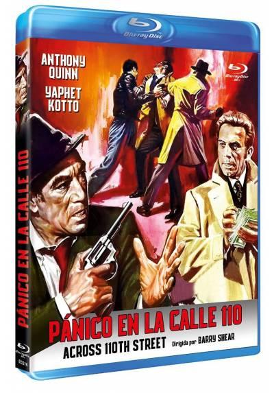 Panico en la calle 110 (Blu-ray) (Bd-R) (Across 110th Street)