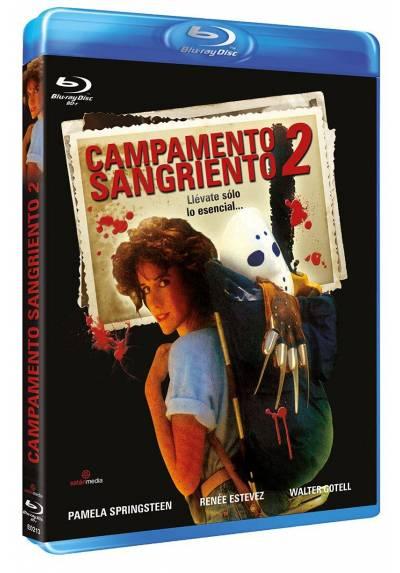Campamento Sangriento 2 (Blu-Ray) (Bd-R) (Sleepaway Camp II: Unhappy Campers)