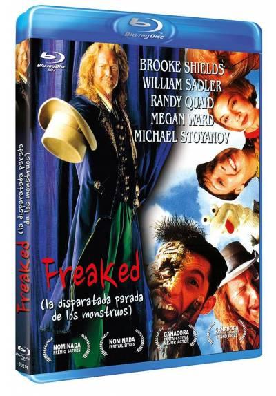 copy of Freaked: La disparatada parada de los monstruos (Blu-Ray)