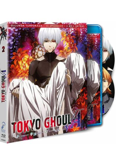 Tokyo Ghoul - 2ª Temporada (Blu-Ray + Extras)