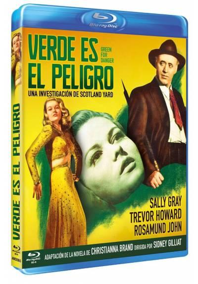 Verde es el peligro (Blu-ray) (Bd-R) (Green for Danger)