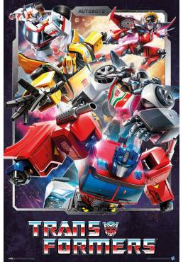 Poster Transformers - Personajes (POSTER 61 x 91,5)