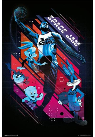 Poster Space Jam 2 - Personajes (POSTER 61 x 91,5)