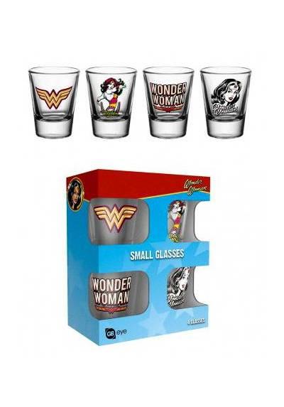 Juego de Vasos de chupito - Wonder Woman