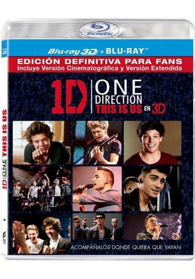 One Direction: This Is Us (Blu-ray + Blu-ray 3D)