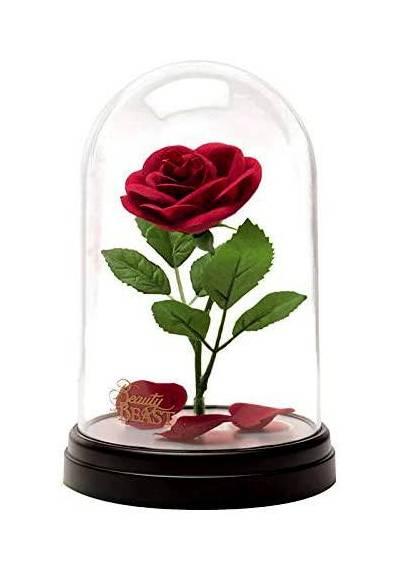 Lampara Disney Rosa - Las Bella y La Bestia