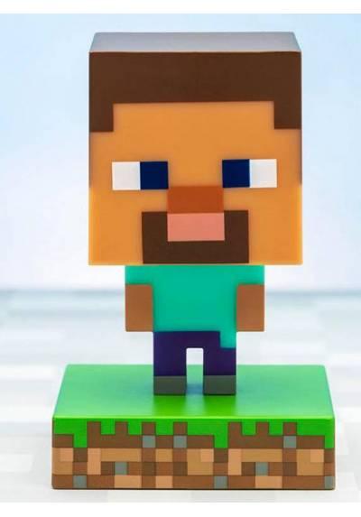 Lampara Icons Steve Minecraft