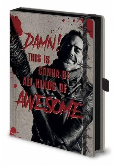 Cuaderno A5 Premium Walking Dead - Negan