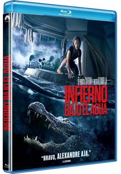 Infierno bajo el agua (Blu-ray) (Crawl)