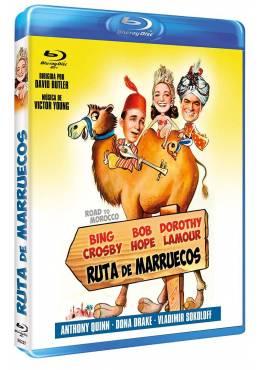 Ruta de Marruecos (Bd-R) (Blu-ray) (Road to Morocco)