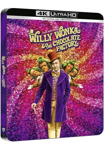 Un Mundo de Fantasia (Willy Wonka and the Chocolate Factory) - Steelbook (4k UHD + Blu-ray)