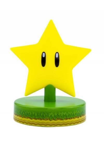Lampara Icono Super Estrella - Super Mario