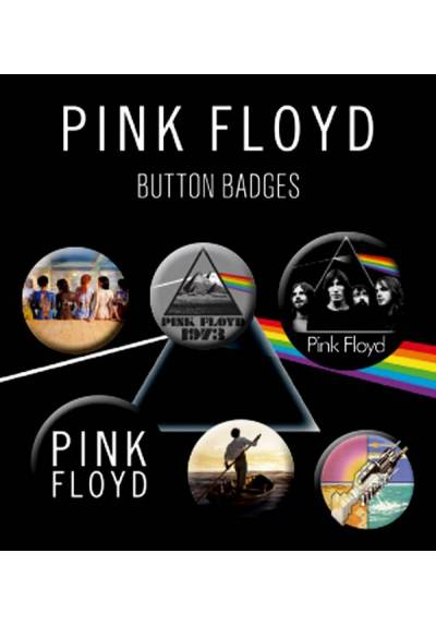 Set de Chapas de Pink Floyd