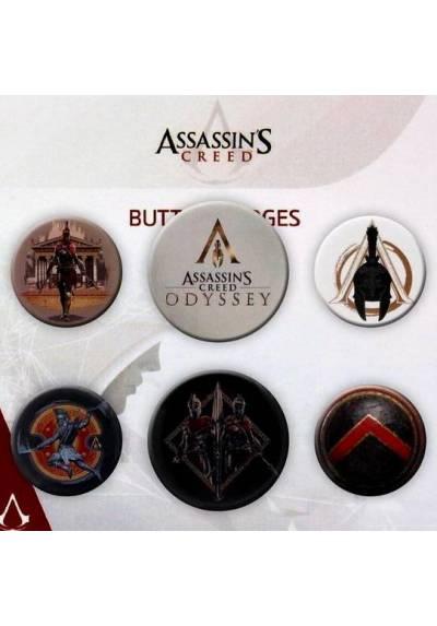 Set de Chapas de Assassin's Creed 2