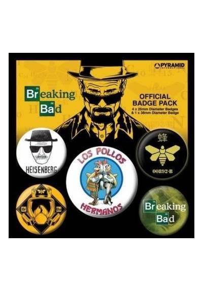 Set de Chapas de Breaking Bad