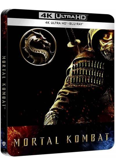 Mortal Kombat (2021) - Steelbook (4k UHD + Blu-ray)
