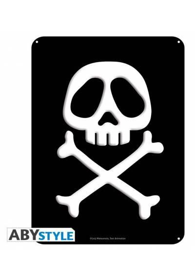 Placa de Metal Emblem - Capitan Harlock