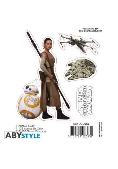 Pegatinas BB8/ Rey - Star Wars