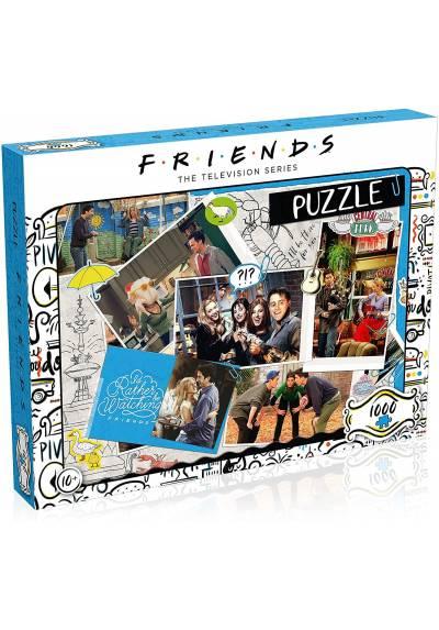 Puzzle Album de Recortes - Friends