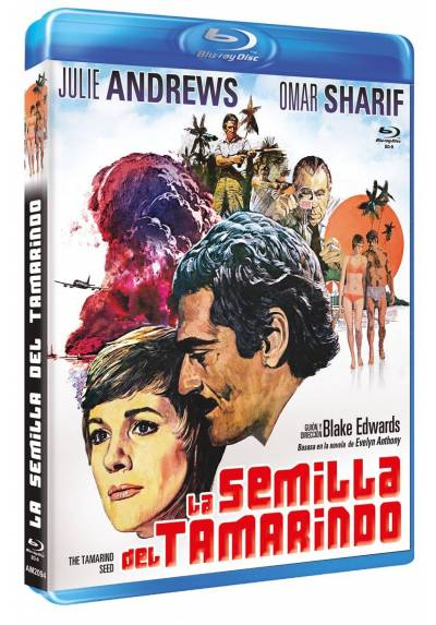 La semilla del tamarindo (Blu-Ray) (Bd-R) (The Tamarind Seed)