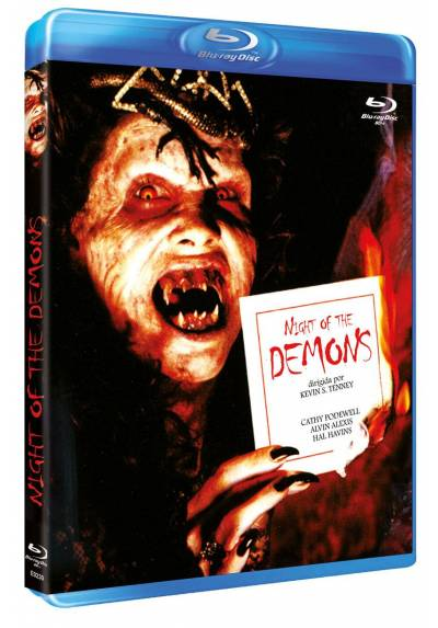copy of Night Of The Demons (Blu-Ray)