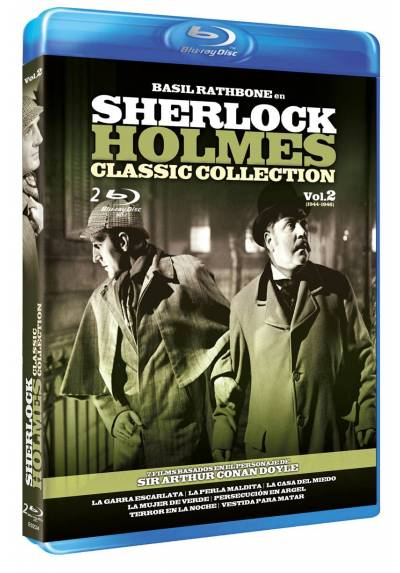 copy of Sherlock Holmes : Classic Collection - Vol. 2 (Blu-Ray)