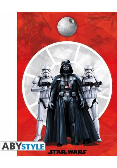 Poster Darth Vader y 2 Troopers - Star Wars (POSTER 98x68)