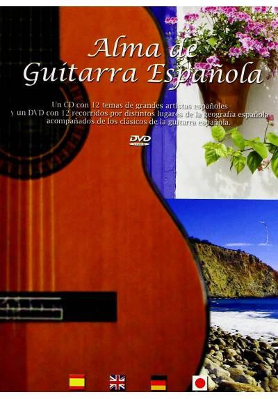 Alma De Guitarra Española (CD + DVD)