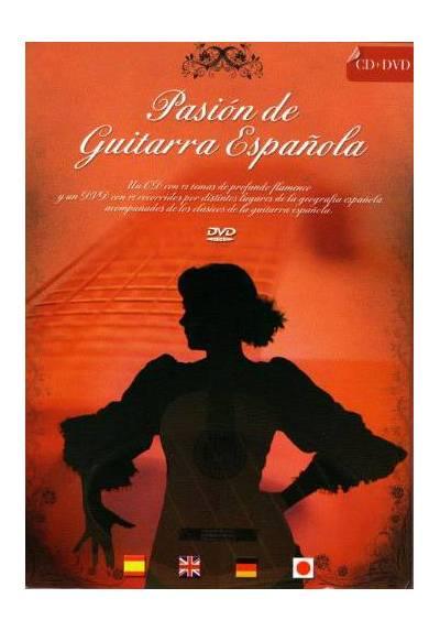 Pasion por la Guitarra Española (CD + DVD)