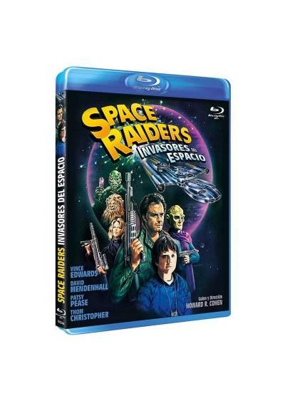 Space Raiders - Invasores del espacio (Bd-R) (Blu-ray) (Space Raiders)