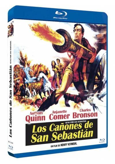 Los cañones de San Sebastian (Blu-ray) (La bataille de San Sebastian)