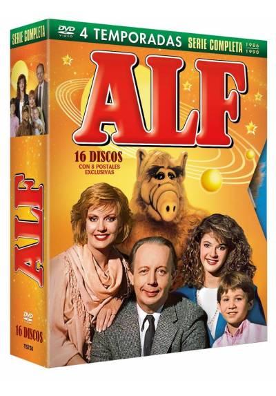ALF Serie Completa Temporadas 1-4 (16 DVDs) Edicion Especial Digipack + Postales