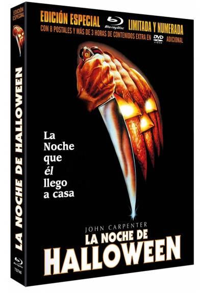 La Noche de Halloween (BD + DVD) Master Remasterizado de 4K + 8 Postales Ed. Limitada y Numerada (Blu-ray)