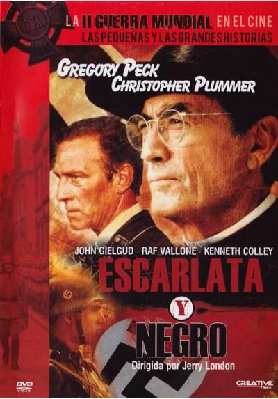 copy of Escarlata Y Negro (Blu-Ray) (The Scarlett And The Black)