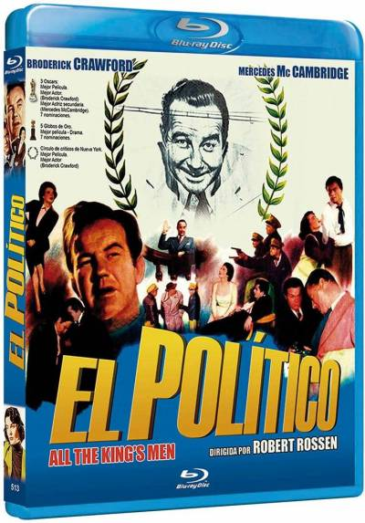 El politico (Blu-ray) (All the King's Men)