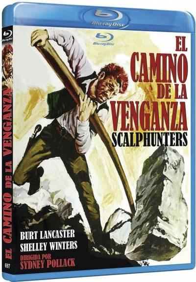 El camino de la venganza (Blu-ray) (The Scalphunters)