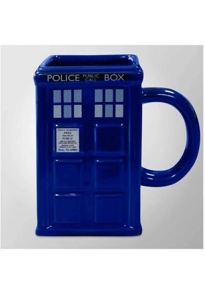 Taza 3D Tardis - Doctor Who