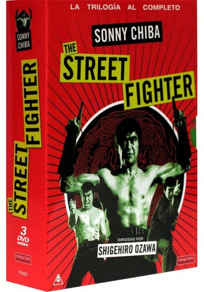 Pack The Street Fighter