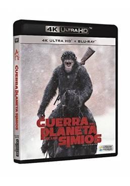 La Guerra Del Planeta De Los Simios (4K Ultra HD + Blu-Ray) (War For The Planet Of The Apes)